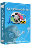 M4P to MP3 Converter for Mac box